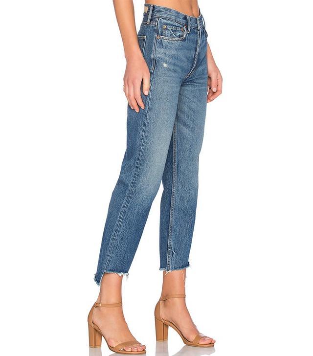 Grlfrnd Helena Straight Let Jeans