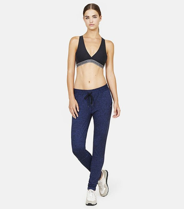 Outdoor Voices Running Woman Sweats in Navy