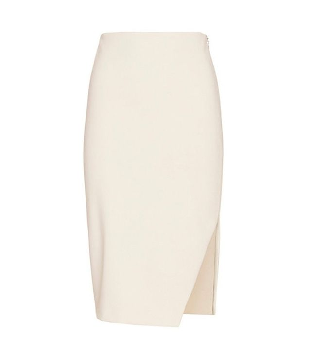 Exclusive for Intermix Laura Zip Pencil Skirt