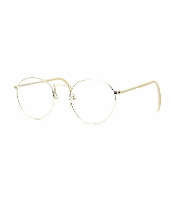 Geek chic glasses: Shuron Ronstrong Cable Temple Eyeglasses