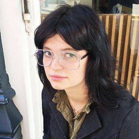 Geek chic glasses: Pixie Geldof