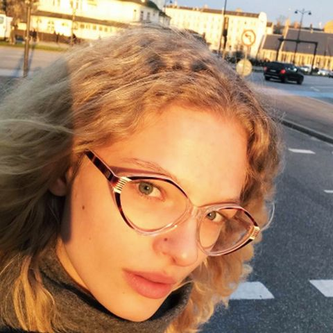 Geek chic glasses: frederikke sofie