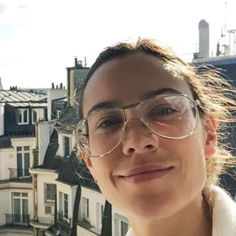 Geek chic glasses: Alexa Chung