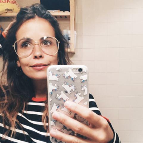 Geek chic glasses: Collage Vintage