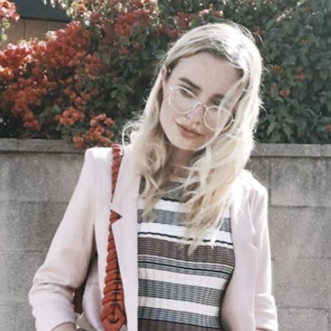 Geek chic glasses: Sonya Esman