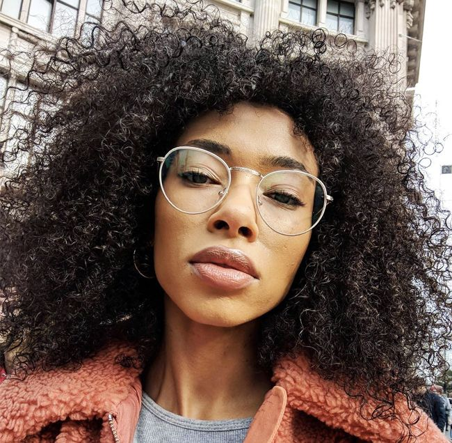 Geek chic glasses: Asos Lesley