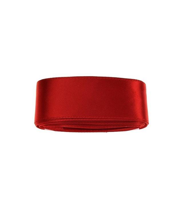 Habico Red Satin Ribbon