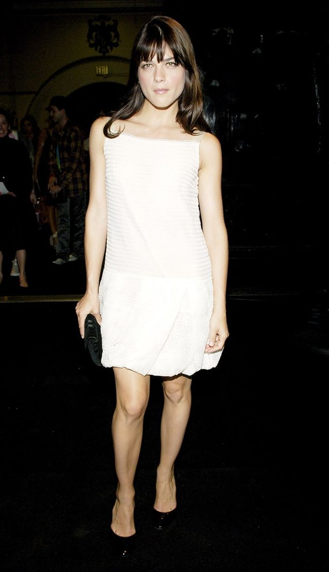 2006: Actress Selma Blair sported the bubble at a Marc Jacobs fashion show.