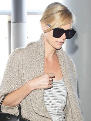 Charlize Theron's $18 Forever 21 Skirt Is Crazy Flattering