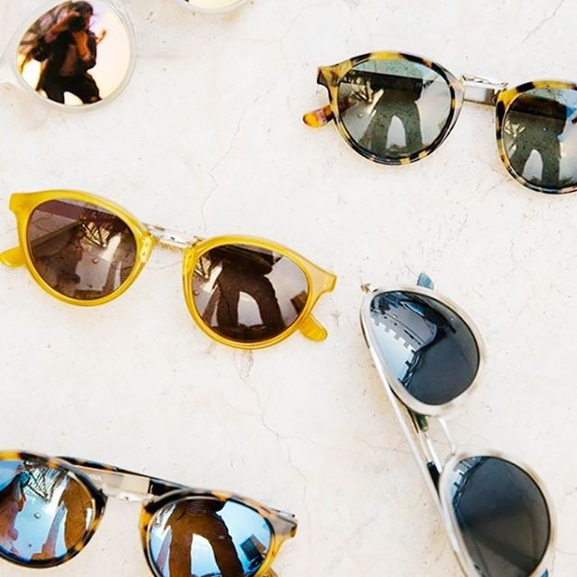 Day 7: Try a new sunglasses shape.