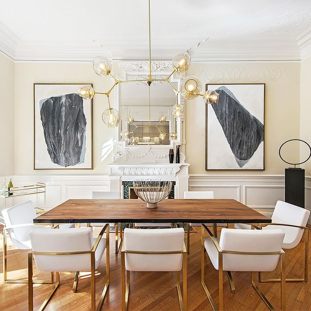 We're Swooning Over This Feminine Brooklyn Townhouse