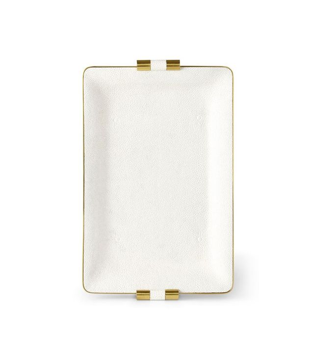 Aerin Shagreen Desk Tray