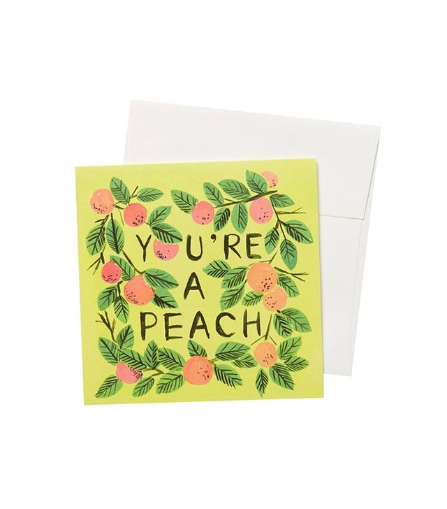 Quill & Fox You're a Peach Card