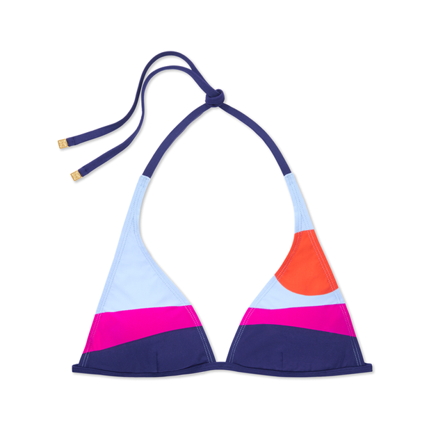 Tory Burch Marguerite Halter Top