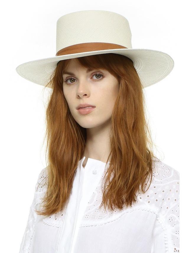 Janessa Leone Zinnia Bolero Hat