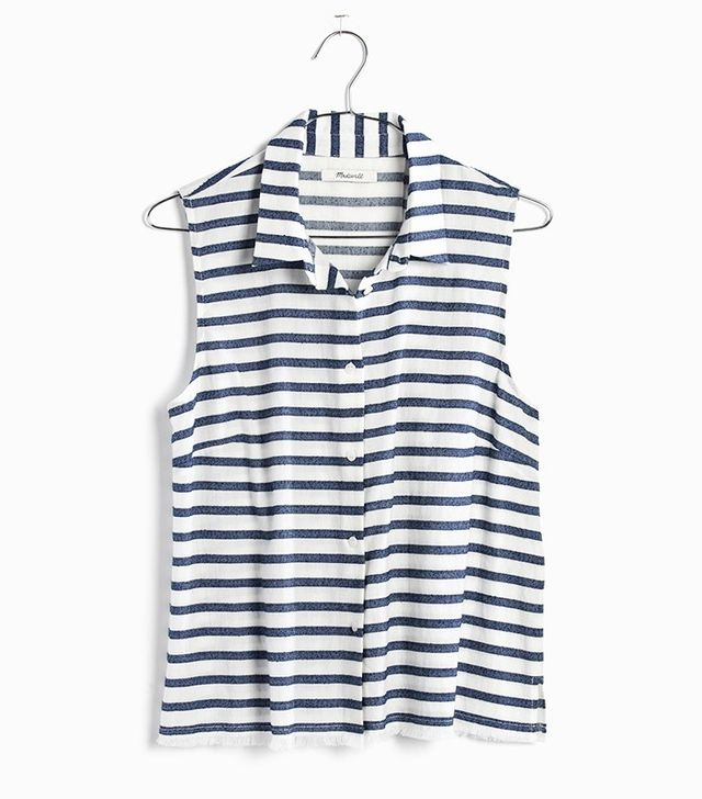 Madewell Moment Shirt in Stripe
