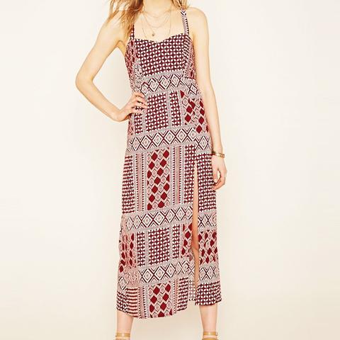 Contemporary Tribal Print Dress
