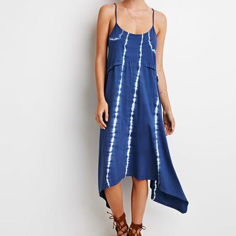Contemporary Tie-Dye Cami Dress