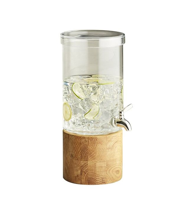 Crate and Barrel Refreshment Drink Dispenser
