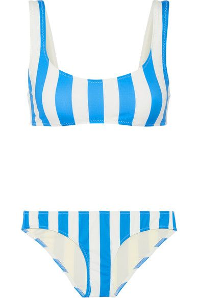 Solid and Striped The Elle Striped Bikini