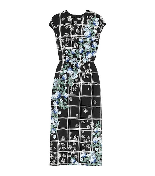 Mother of Pearl Kara Printed Silk-Jersey Midi Dress