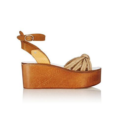 Kia Platform Wedge Sandals