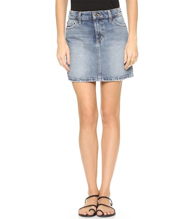 Joe's Jeans Crescendo A Line Skirt