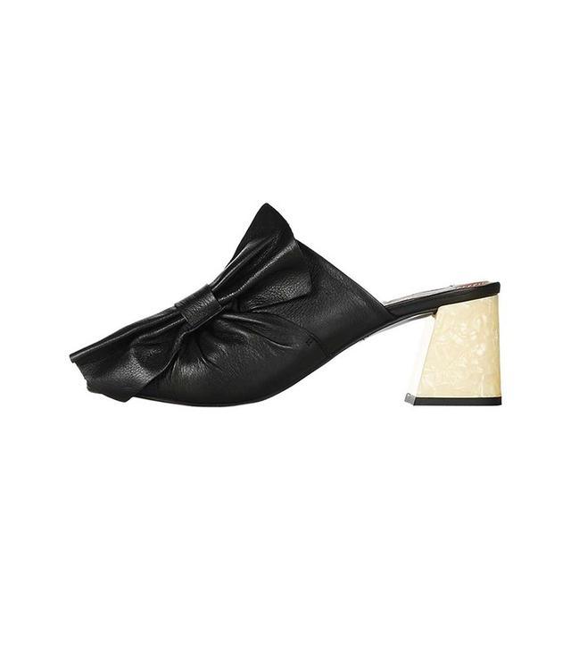 Topshop Limited Edition Pavlova Mid Heel Mules