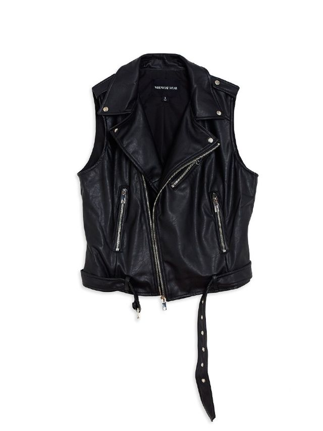 Who What Wear Moto Vest