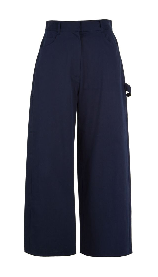 Tibi Brushed Twill Carpenter Pants