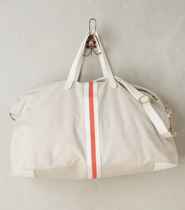 Anthropologie Le Mans Weekender Bag