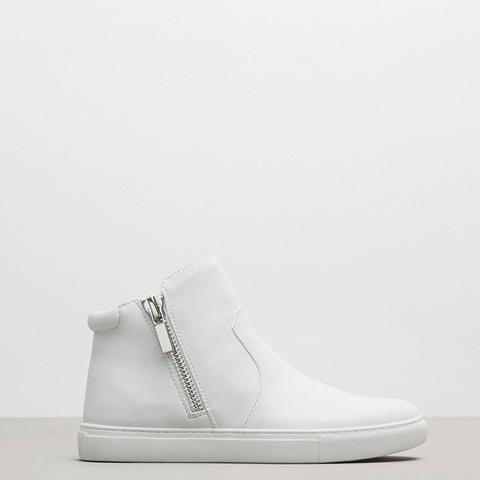 Kiera Leather Sneaker