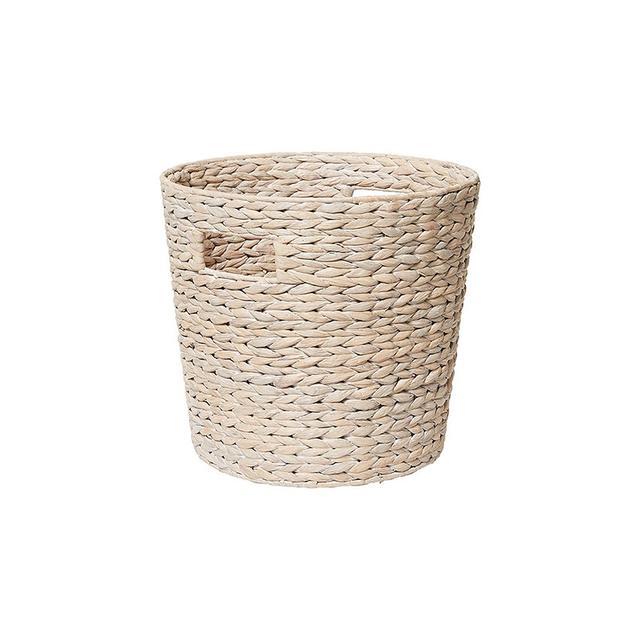 Target Hyacinth Medium Round Basket - White Wash