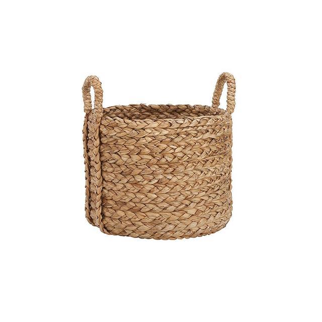 Pottery Barn Beachcomber Large Round Basket