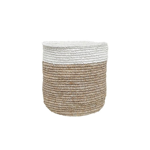 Freedom Otto Basket Large in Natural/White