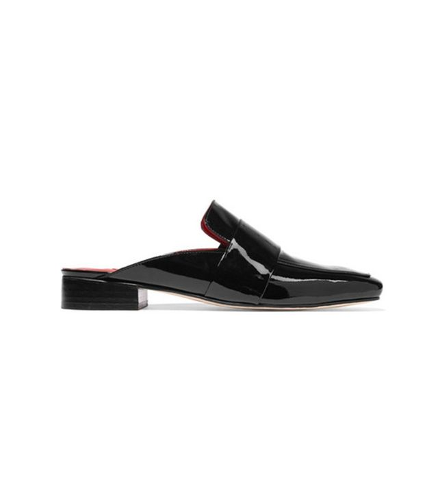 Dorateymur Filiskiye Patent-Leather Slippers