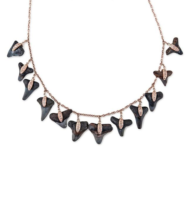 Jacquie Aiche Mini Shark Tooth Necklace