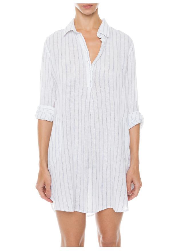 Rails White Sailor Shirt  Dress