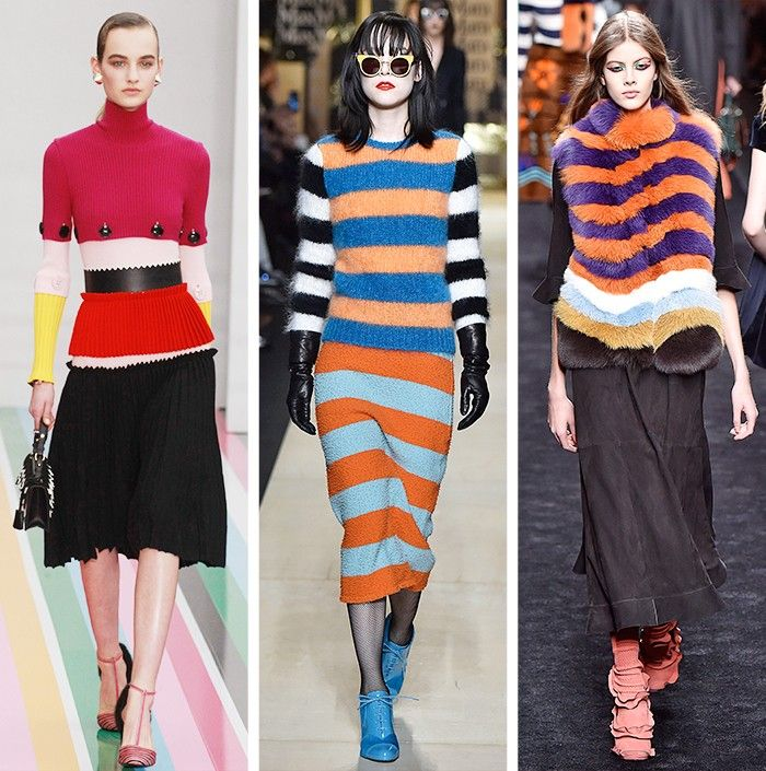 AW16 Fashion Trends: Catwalk models at Salvatore Ferragamo, Max Mara, Fendi