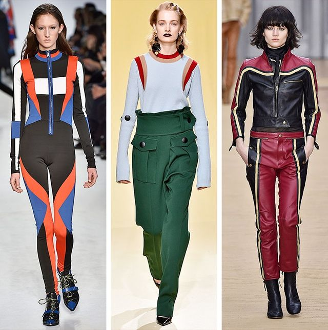 AW16 Fashion Trends on the catwalk at Carven, Marni and Chloé
