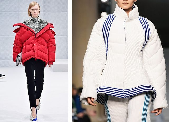 AW16 Fashion Trends on the catwalk at Balenciaga and Richard Malone
