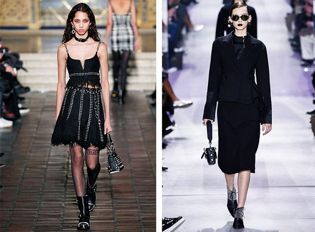 AW16 Fashion Trends on the catwalk at Alexander Wang and Dior