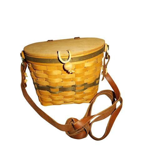 Handmade Shoulder Basket Purse