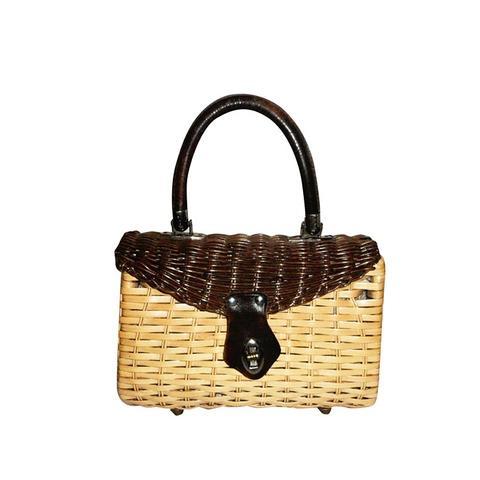 Mr. Jonas Wicker Basket Bag