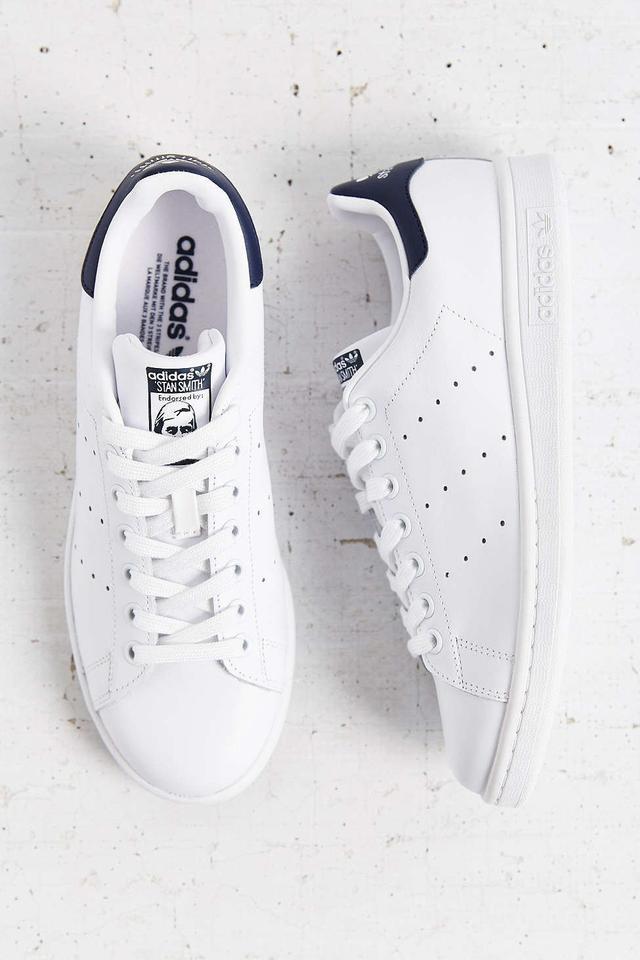 Adidas Originals Stan Smith Sneakers in Running White/Dark Indigo