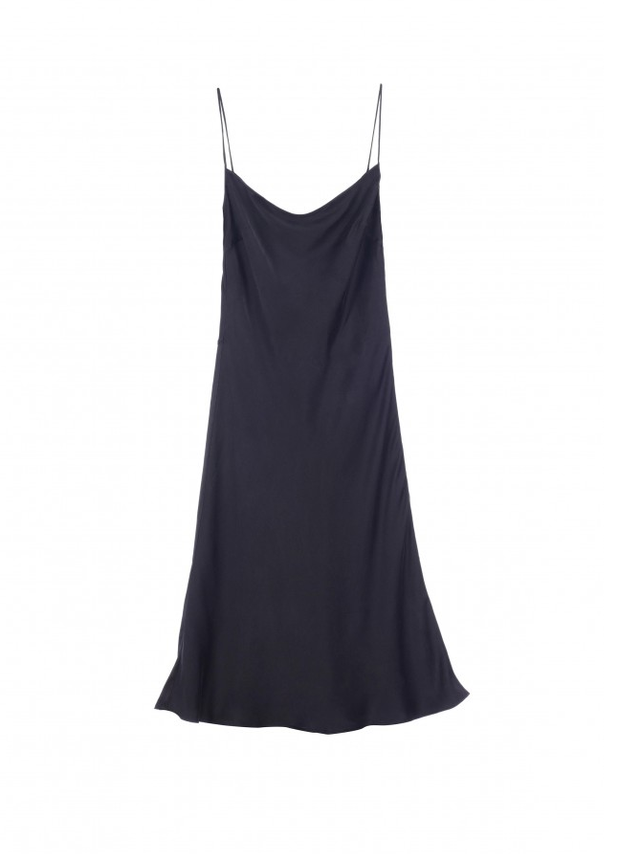 Kate Moss for Equipment Jessa Washed-Silk Dress