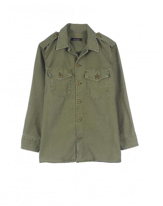 Kate Moss for Equipment Major Cotton Jacket
