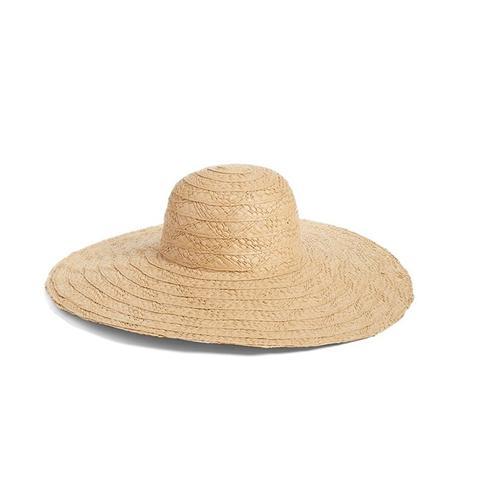 Floppy Straw Hat