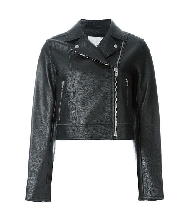 T by Alexander Wang Cropped Biker Jacket