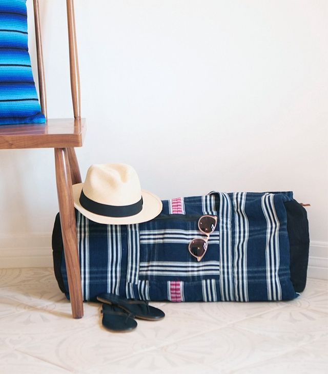 The Little Market Antigua Duffle Bag in Carolina